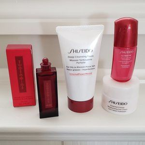 Shiseido | 4pc Skincare Face Bundle | NEW